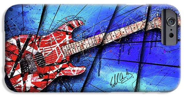 The Frankenstrat On Blue I IPhone 6s Case by Gary Bodnar