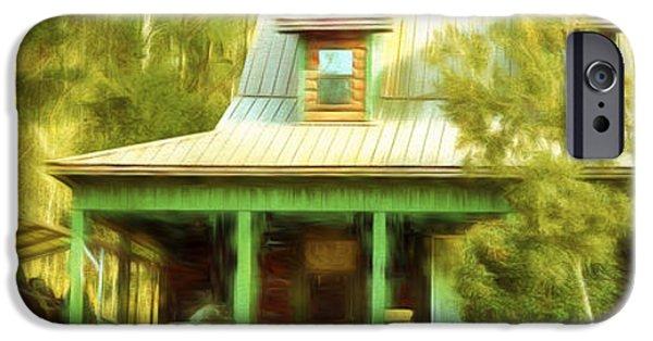 The Getaway - Digital Painting IPhone Case by Barry Jones