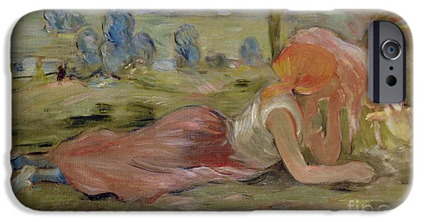 The Goatherd IPhone 6s Case by Berthe Morisot