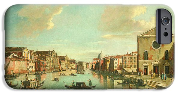 The Grand Canal  Venice IPhone Case by William James