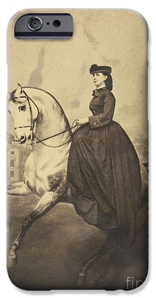 The Grand Duchess Alexandra IPhone Case by MotionAge Designs