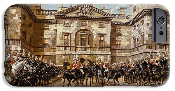 The Guard Mounting  The Horse Guards At Whitehall  IPhone 6s Case by Harry Payne and Arthur Charles