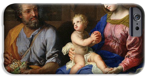 The Holy Family IPhone Case by Jacques Stella