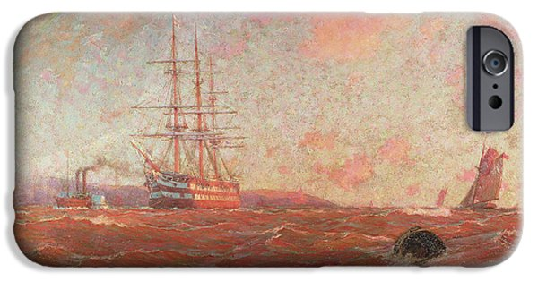 The Home Port, Falmouth IPhone Case by William Ayerst Ingram