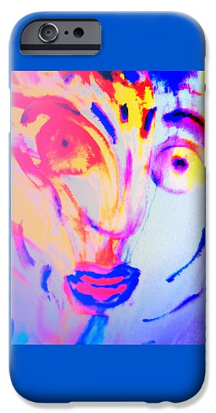 The Horse Is In Me And In You  IPhone Case by Hilde Widerberg
