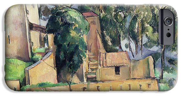 The House At Bellevue IPhone Case by Paul Cezanne
