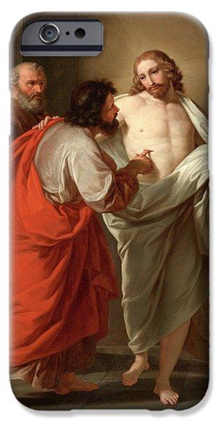 The Incredulity Of Saint Thomas IPhone Case by Giuseppe Bottani