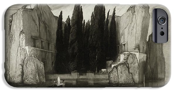 The Isle Of The Dead IPhone Case by Max Klinger