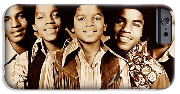 The Jackson 5 Collection IPhone Case by Marvin Blaine