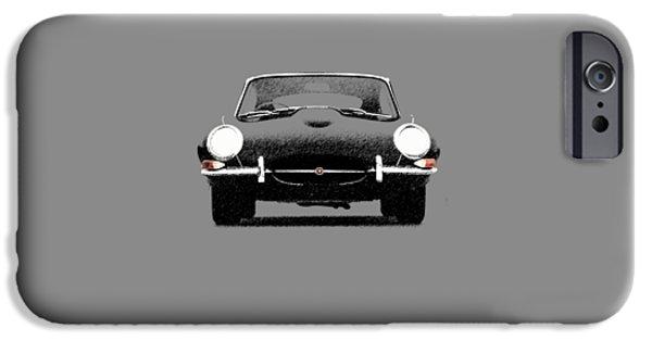 The Jaguar E Type IPhone Case by Mark Rogan