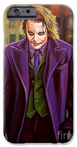 The Joker In Batman  IPhone 6s Case by Paul Meijering