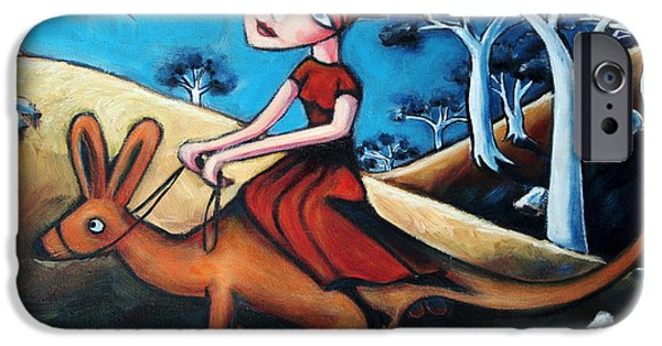 The Journey Woman IPhone 6s Case by Leanne Wilkes