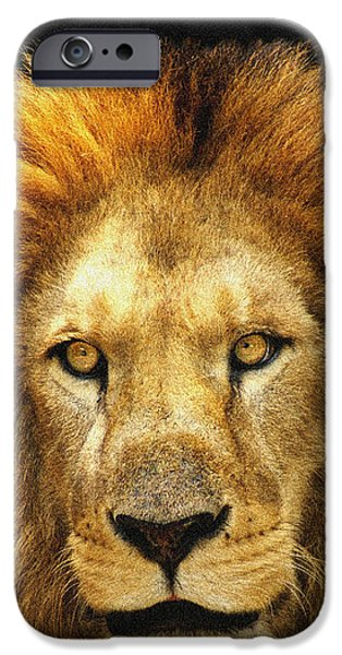 The King IPhone Case by Celestial Images