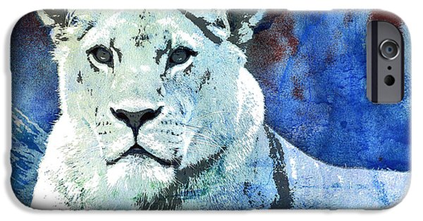 The King's Wife IPhone Case by Jutta Maria Pusl
