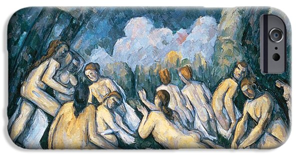 The Large Bathers IPhone Case by Paul Cezanne