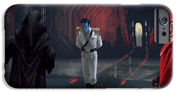 The Last Grand Admiral IPhone Case by Ryan Barger