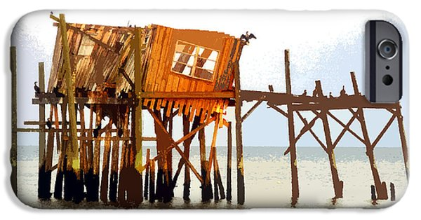 The Last Of Old Cedar Key IPhone Case by David Lee Thompson
