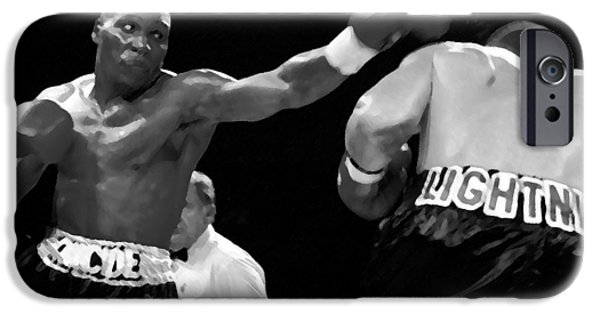 The Left Jab IPhone Case by David Lee Thompson