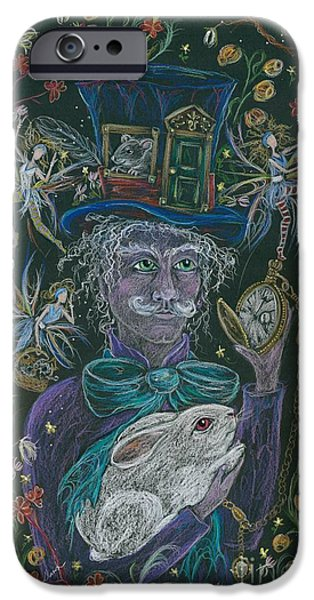 The Maddening Hatter IPhone Case by Dawn Fairies