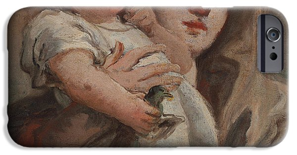The Madonna And Child With A Goldfinch IPhone 6s Case by Tiepolo