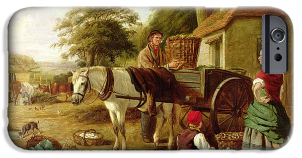 The Market Cart IPhone 6s Case by Henry Charles Bryant