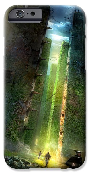 The Maze Runner IPhone Case by Philip Straub