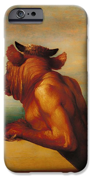 The Minotaur  IPhone 6s Case by Mountain Dreams