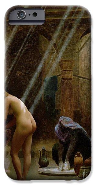 The Moorish Bath IPhone Case by Jean Leon Gerome