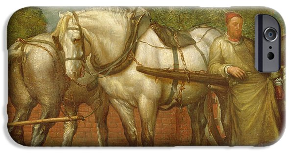 The Noonday Rest  IPhone Case by George Frederick Watts