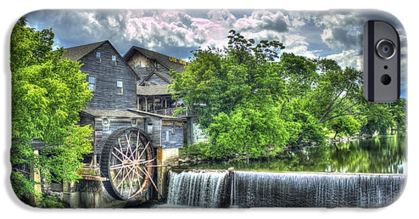 The Old Mill Pigeon Forge Tn IPhone Case by Reid Callaway