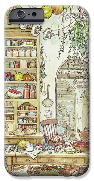 The Palace Kitchen IPhone 6s Case by Brambly Hedge