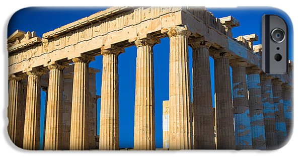 The Parthenon IPhone Case by Inge Johnsson
