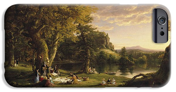 The Pic-nic IPhone Case by Thomas Cole