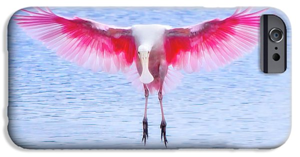The Pink Angel IPhone 6s Case by Mark Andrew Thomas