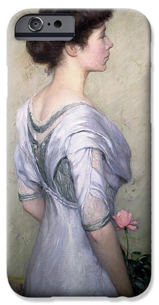 The Pink Rose IPhone Case by Lilla Cabot Perry