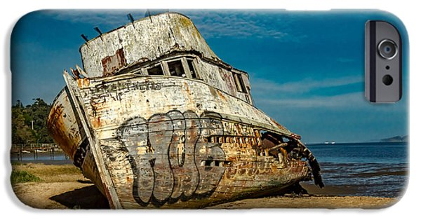 The Point Reyes Beached IPhone Case by Bill Gallagher