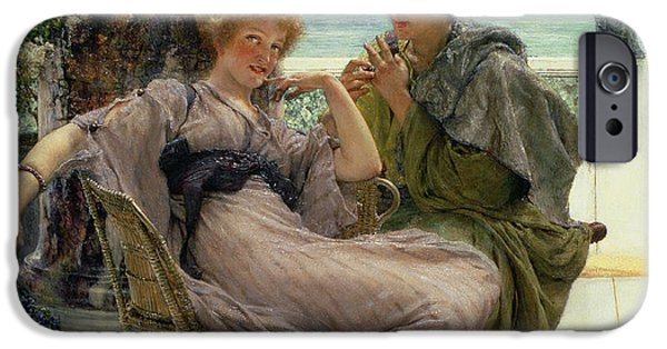 The Proposal IPhone Case by Sir Lawrence Alma Tadema