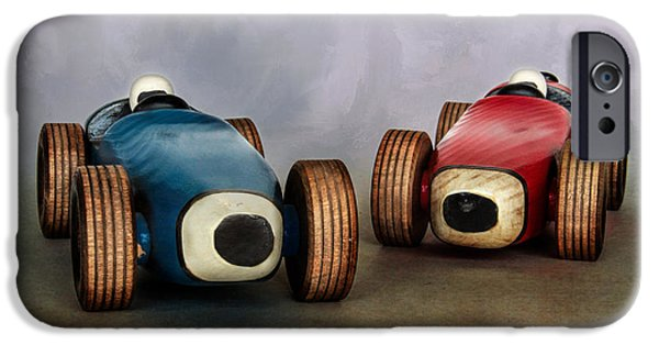 The Race IPhone Case by David and Carol Kelly