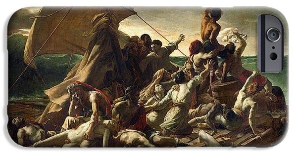 The Raft Of The Medusa IPhone Case by Theodore Gericault