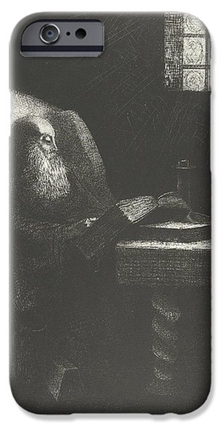 The Reader IPhone Case by Odilon Redon