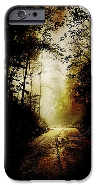 The Road To Hell Take II IPhone Case by Scott Norris