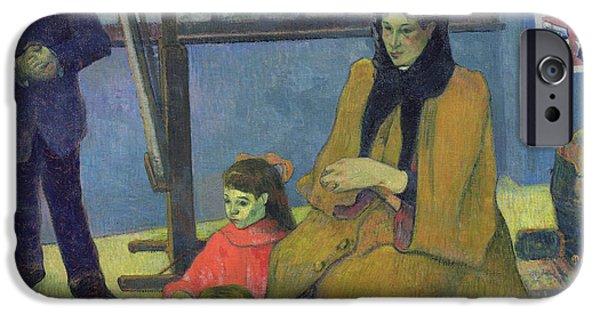 The Schuffenecker Family IPhone Case by Paul Gauguin