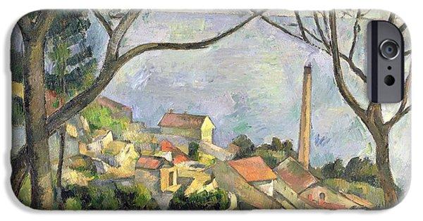 The Sea At L Estaque IPhone Case by Paul Cezanne