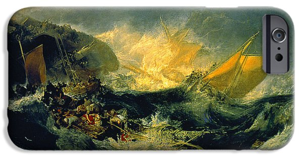 The Shipwreck Of The Minotaur IPhone 6s Case by JMW Turner