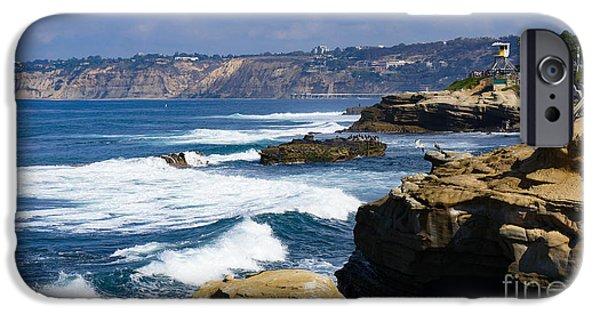 The Shore At La Jolla IPhone Case by Jonathan Salmi