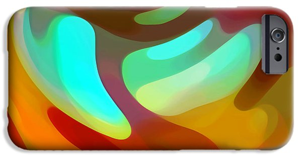 The Sound Of Color IPhone Case by Amy Vangsgard