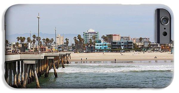 The South View Venice Beach Pier IPhone 6s Case by Ana V Ramirez