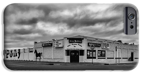 The Stone Pony Asbury Park New Jersey Black And White IPhone Case by Terry DeLuco