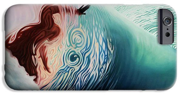 The Surface IPhone Case by Kelly Meagher