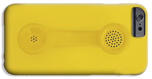 The Telephone Handset IPhone Case by Scott Norris
